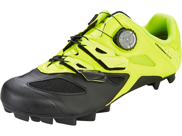 Mavic Crossmax Elite Shoes Herre safety yellow/black/black